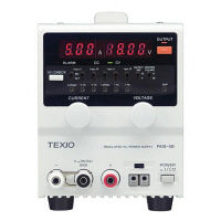 テクシオ・テクノロジー 直流安定化電源 PA10-5B (直送品)