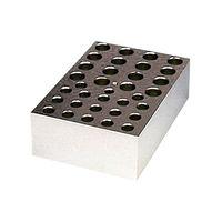 アナテック 電子冷却ブロック恒温槽用 アルミブロック(クールスタット)1.5mL用×16穴・0.5mL用×18穴 5000-03 3-5204-13 (直送品)