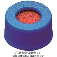 PROQUALITA 低溶出広口スクリューキャップバイアル セプタム付き青キャップ 6904-49999 1箱(100個) 3-6159-11 (直送品)