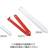 富士システムズ バッグクランプ 320mm 白 5個入 99988 1袋(5個) 3-6834-03 (直送品)
