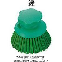アズワン サニーフーズHACCPブラシ ハンドブラシ 丸型 緑 1本 2-2307-14 (直送品)