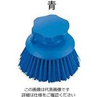 アズワン サニーフーズHACCPブラシ ハンドブラシ 丸型 青 1本 2-2307-15 (直送品)