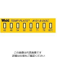 アイピー技研(IPL) 真空用テンプ・プレート(不可逆性) 38mm×10mm 101-8V-043 1ケース(10枚) 61-3815-52 (直送品)