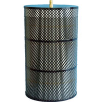 忍足研究所 OSHITARI 水用高性能フィルター OMFフィルタ Φ300×500 2個入 OMF-500AK 1箱(2個) 819-0013 (直送品)