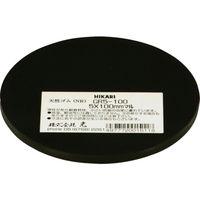 光(ヒカリ) 光 ゴム(天然)黒5×100mm丸 GR5-100 1枚 788-6331 (直送品)