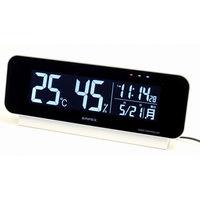 電波時計付デジタル温湿度計 TD-8262 エンペックス (直送品)