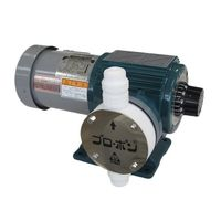 共立機巧 薬液定量注入ポンプ 250/300mL/min E-250-TTT-1-6T 1式 61-4441-66 (直送品)