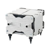 テクノ高槻 小型エアーポンプ 吸排両用型 VP-6035S 1個 61-9695-29 (直送品)