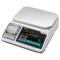 寺岡精工 デジタルスケール DSX-1000P 15KG (プリンター内蔵タイプ) 1個 62-8622-24 (直送品)
