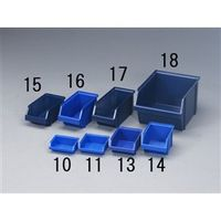 エスコ(esco) 125x228x101mmパーツトレー(重ね置型/青) 1セット(12個) EA661CA-15 (直送品)