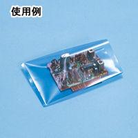 サンプラテック 静電対策袋 ポリ袋 0.05×100×150 100枚入 15881 1組 (直送品)