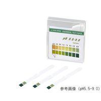 アズワン pH試験紙 スティック pH5.5-9.0 1箱(100枚) 1-1267-05 (直送品)