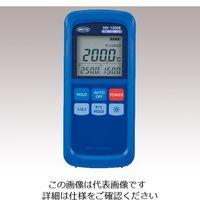 安立計器 ハンディ熱電対温度計 スタンダード K熱電対 ー200〜+1370℃ HD-1201K 1台 2-1082-06 (直送品)