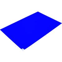 トラスコ中山(TRUSCO) TRUSCO 粘着クリーンマット 600×900MM ブルー 1シート 30枚入 CM6090-1B 419-8697 (直送品)