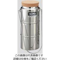 サーモス(THERMOS) ステンレスデュワー瓶(2重構造) D-1001 栓付 1個 5-240-11 (直送品)