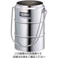 サーモス(THERMOS) ステンレスデュワー瓶(2重構造) D-1001W 1個 5-242-12 (直送品)
