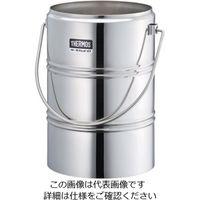 サーモス(THERMOS) ステンレスデュワー瓶(2重構造) D-6001 1個 5-244-12 (直送品)