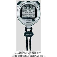 セイコークロック(Seiko Clock) デジタルストップウォッチ(ソーラー充電型) SVAJ101 1台 6-5346-21 (直送品)