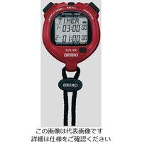 セイコークロック(Seiko Clock) デジタルストップウォッチ(ソーラー充電型) SVAJ103 1台 6-5347-21 (直送品)
