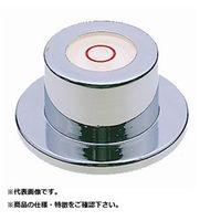 新潟理研測範 丸形レベル(ツバ付) 18X28X14  ML-28 1台  (直送品)