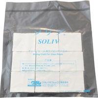 クラレクラフレックス(kuraray) クラレ ソリブ 60mm×70mm (1Cs(箱)=1000枚入) SOLIV-0607 518-6854 (直送品)