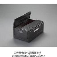 エスコ(esco) 600x400x253mm/38L保温・保冷ボックス(折畳式) 1個 EA917AA-30 (直送品)