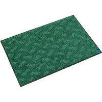 ミヅシマ工業 抗菌マット 600X900 緑 496-0060449-7325 1枚(わけあり品)