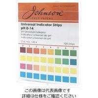 アズワン pH試験紙 pH0.0〜14.0 140.4 1ケース(100枚) 1-1746-21 (直送品)