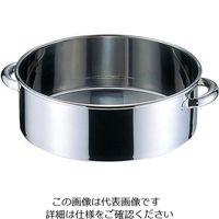 オオモリ ステンレス丸桶 23L OM44-07 1個 3-9693-02 (直送品)