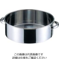 オオモリ ステンレス丸桶 29L OM44-08 1個 3-9693-03 (直送品)
