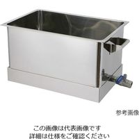 オオモリ 洗浄槽 150L OM1013-38 1個 4-245-03 (直送品)