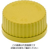 アズワン ネジ口瓶用キャップ 黄 3-9795-02 1個 (直送品)