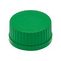 アズワン ネジ口瓶用キャップ 緑 3-9795-03 1個 (直送品)