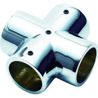 フジテック・ジャパン フジテック パイプ継手クロス・25mm(ネジ止め付) B-28409 1個 123-2848 (直送品)