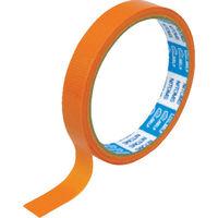 ニトムズ(nitoms) ニトムズ PEクロステープ 15mmx10m 橙 J6809 1巻 114-4713 (直送品)
