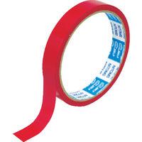 ニトムズ(nitoms) ニトムズ PEクロステープ 15mmx10m 赤 J6810 1巻 114-4714 (直送品)