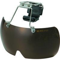 トーヨーセフティー(TOYO SAFETY) トーヨーセフティ 帽子取付用メガネ ブラウン NO.1400-DB 1個 114-1719 (直送品)