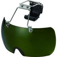 トーヨーセフティー(TOYO SAFETY) トーヨーセフティ 帽子取付用メガネ ガス用 NO.1400G 1個 853-7141 (直送品)