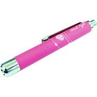 コンテック(KONTEC) KONTEC 1灯ラバー調ペン型ブラックライト ピンク PW-UV375H-07PI 1個 102-6012 (直送品)