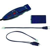 ジェフコム(JEFCOM) デンサン ブレーカー配線チェッカー 活線対応セット SEC-970 1台 102-5910 (直送品)