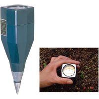 竹村電機製作所 土壌酸度測定器 DM-15(土壌酸湿度) 31540876(直送品)