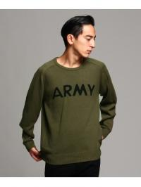 ALPHA INDUSTRIES ARMYコットンニット