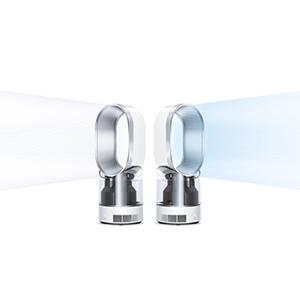 ダイソン MF01超音波式加湿器 アイアン/サテンブルー 「MF01IB」は、年間を通して使用できる