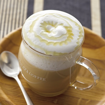 Honey milk latte