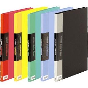 「キングジム クリアーファイルカラーベース」シリーズは種類、サイズも豊富!