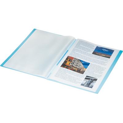 「キングジム シンプリーズ クリアーファイル(透明)A4タテ 40ポケット 186TSPW」はしっかり品質&お手頃価格のクリアーファイルです!