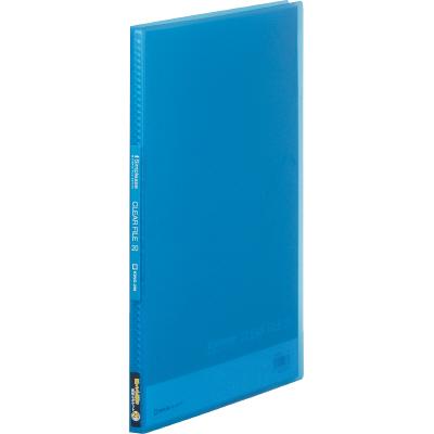 20ポケットタイプ「キングジム シンプリーズ クリアーファイル(透明)A4タテ 20ポケット 186TSP」も発売中!