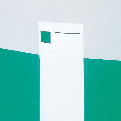 キングジムのクリアーファイル「カラーベース差し替え式 A4タテ背幅49mm 139-3」なら便利な裏面スクエアパターンの背見出し紙付き!