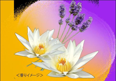 デュアルアロマ香りイメージ