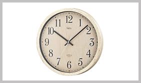 ノア精密 電波時計:ティンバー カートン FEW175 N